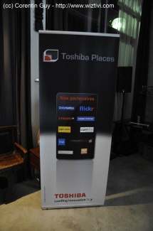 Toshiba Places, une offre de convergence multimédia