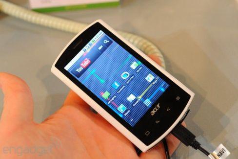 Acer Liquid : Fuite de la beta pour la MàJ de FroYo prévue mi-octobre