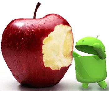 Etats-Unis : Android toujours devant iOS au mois d'août mais l'écart se réduit