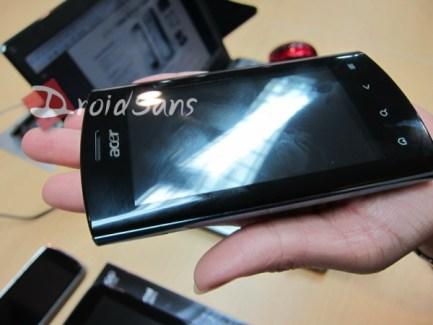 Premières photos du nouvel Acer Liquid Metal et d'une tablette Acer sous Android