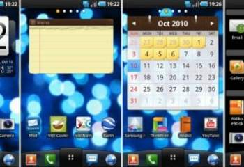 L'interface LG Optimus pour le Nexus One et le Galaxy S