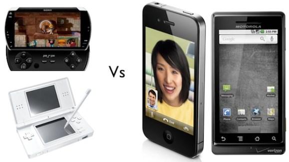 Les consoles de poches, PSP et DS, perdent du territoire face aux smartphones et tablettes