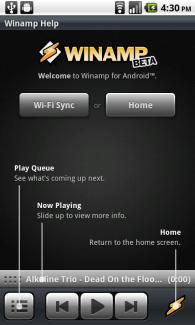 Winamp 0.9.2 est de sortie : synchronisation WiFi, SHOUTcast, listes de lecture…