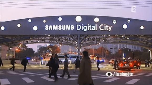Un reportage sur l'empire Samsung