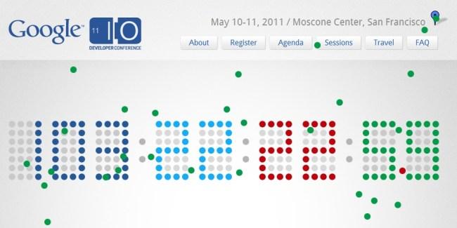 Google I/O 2011 : Le compte à rebours a commencé !