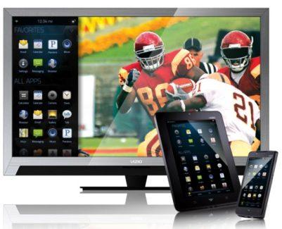 L'américain Vizio travaille sur l'éco-système VIA PLUS en partenariat avec Google TV