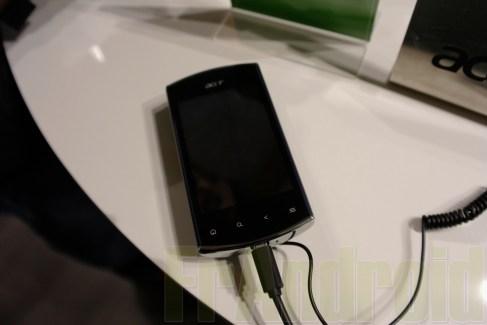 Prise en main du Acer Liquid Mini sous Android