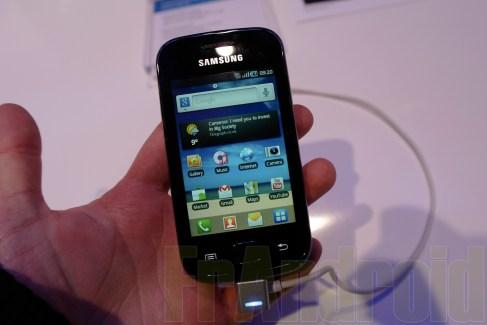 Prise en main du Samsung Galaxy Ace