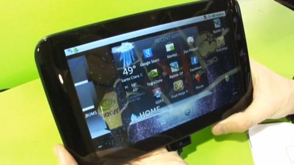 Présentation de la tablette Dell Streak 7 sous Android