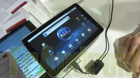 Présentation de la ViewSonic ViewPad 7 sous Android