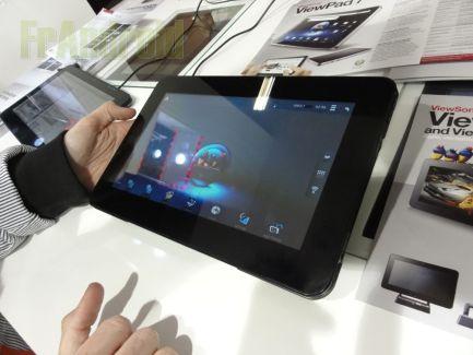 Présentation de la ViewSonic ViewPad 10s sous Android