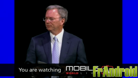 Résumé de la keynote E. Schmidt, CEO Google