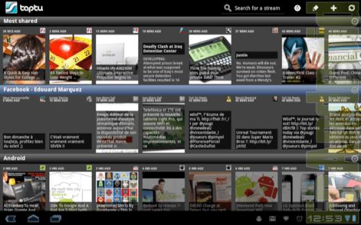 Taptu : une alternative à Pulse News pour smartphones et tablettes