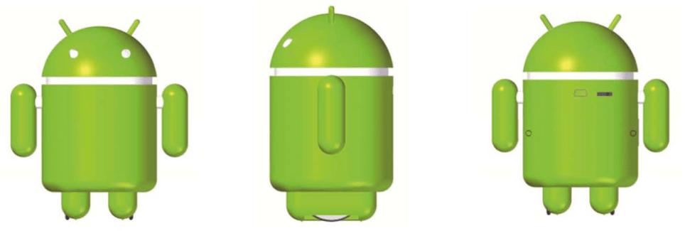 PhonyBotz : un robot communiquant contrôlé par un terminal Android