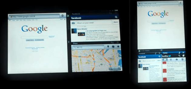 Une nouvelle vidéo d'Onskreen : plusieurs fenêtres sur un même écran