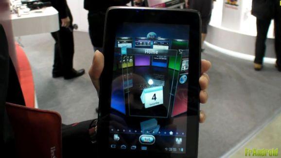 [Computex 2011] Prise en main de la tablette ViewSonic ViewPad 7s sous Android 3.1