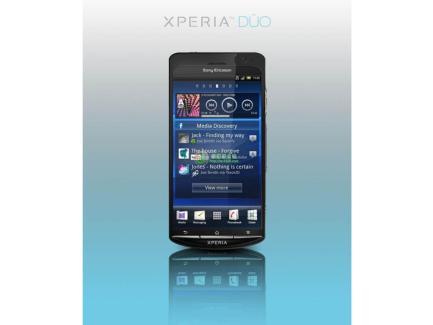 Le smartphone Sony Ericsson Xperia Duo avec un double-coeur se confirme de plus en plus