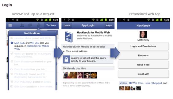 Facebook : Bientôt une nouvelle version sur Android !