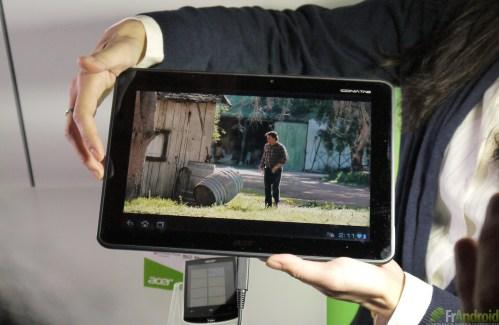 CES 2012 : Acer présente sa nouvelle tablette quadruple-coeur