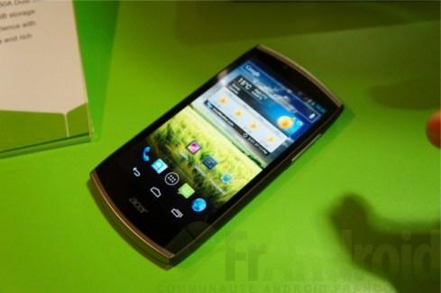 MWC 2012 : Prise en main de l'Acer CloudMobile