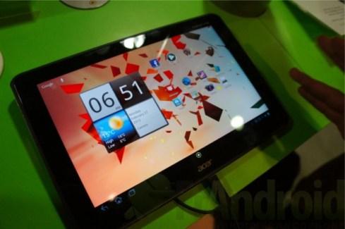 MWC 2012 : Prise en main de l'Acer Iconia Tab A700