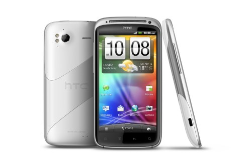 Une version blanche du HTC Sensation avec Ice Cream Sandwich - Android 4.0
