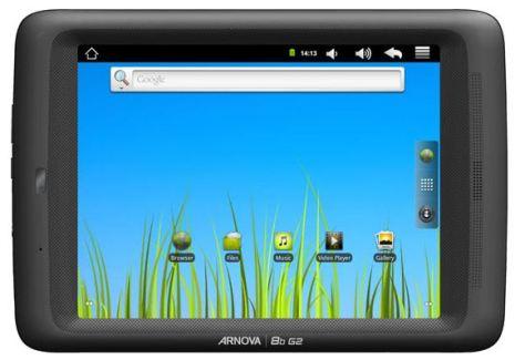 Archos Arnova 8B G2 : un énième tablette low-cost sous Android 2.3