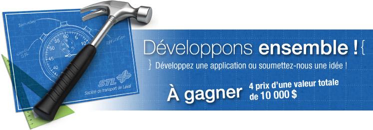 Open Data, STL et concours de développement (dans le même titre)