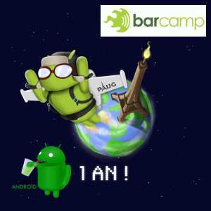 Professionnels: Barcamp & Apero Android à Paris le 2 mai 2012