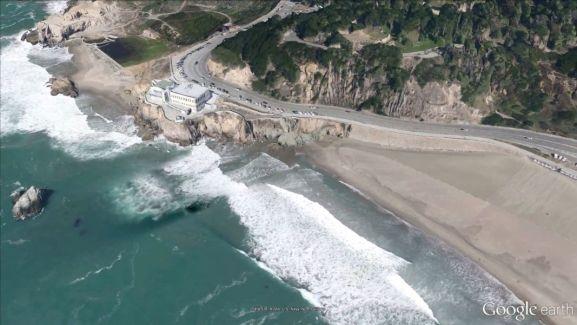 Une démonstration de Google Earth 3D pour les mobiles