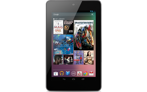 Nexus 7 : La tablette Nexus de Google fabriquée par ASUS est officielle !