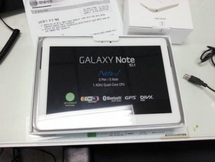 Galaxy Note 10.1, la première tablette avec 2 Go de RAM