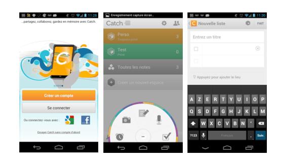 Catch s'offre une mise à jour et une toute nouvelle interface