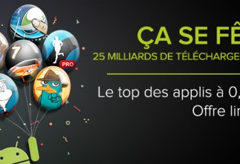 [Promotions] Google Play, les applications à 25 centimes (Jour 3)