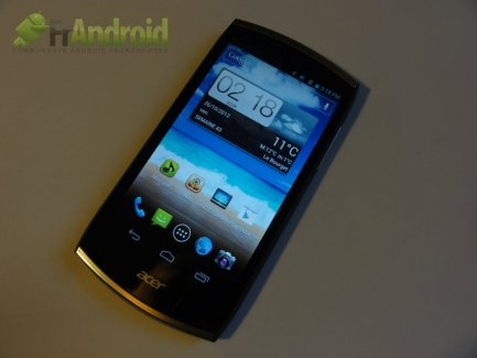 Test du Acer CloudMobile (S500)