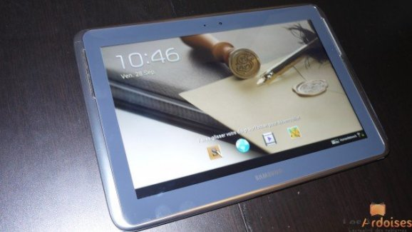 Test de la tablette Samsung Galaxy Note 10.1
