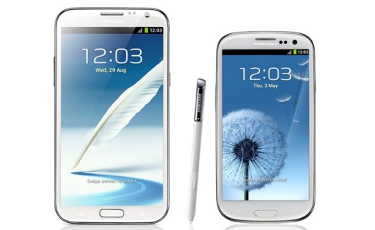 Android 4.2 sur les Samsung Galaxy Note II et Galaxy S III au Q1 2013 ?