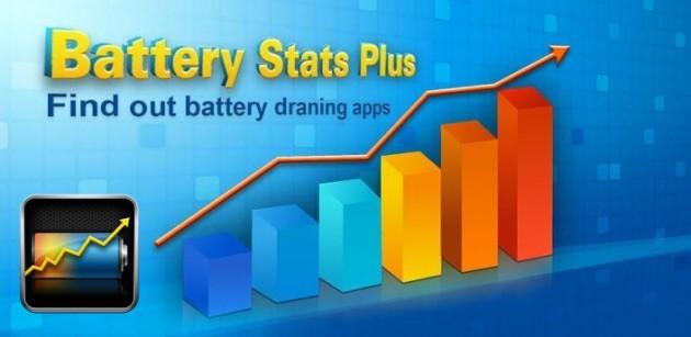 Battery Stats Plus, pour détecter les applications énergivores
