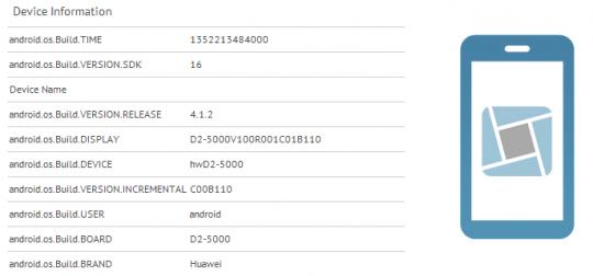 Huawei Ascend D2 : Quadruple-coeur et définition FullHD ?
