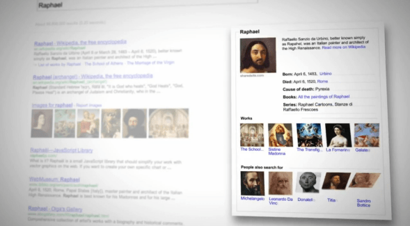 LeWeb'12 : Google introduit le Knowledge Graph en France