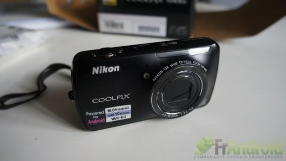 Test du Nikon Coolpix S800c