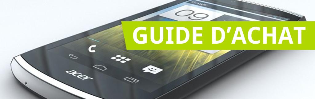 Guide d'achat smartphones Android «milieu de gamme» + concours