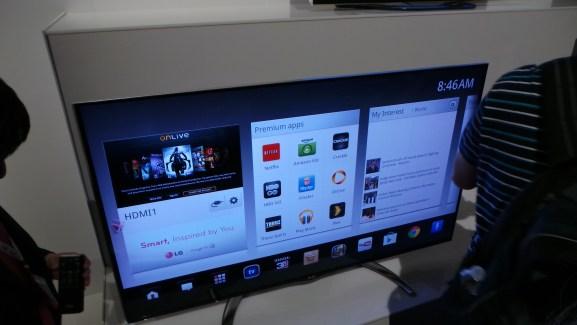 CES 2013 : LG lève le voile sur ses nouvelles Google TV