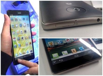 De nouvelles images du mégaphone Huawei Ascend Mate apparaissent sur la toile