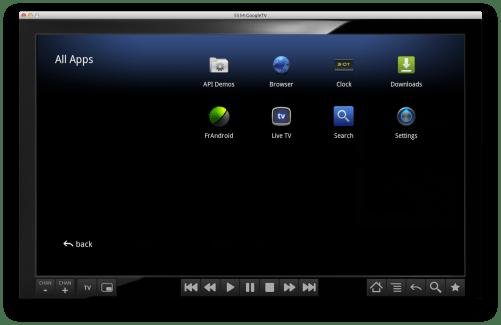 L'émulateur Google TV est maintenant compatible Windows, Mac OS X et Linux