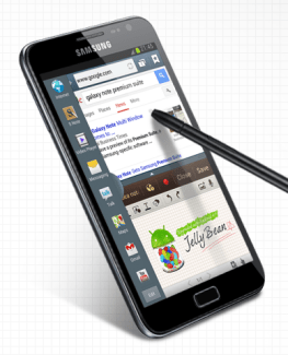 Samsung officialise la mise à jour de Jelly Bean pour le Galaxy Note