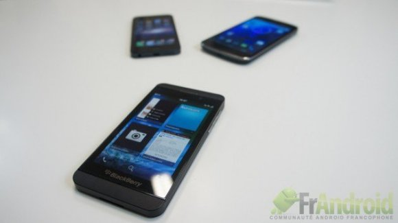 Test du BlackBerry Z10 et de BlackBerry 10