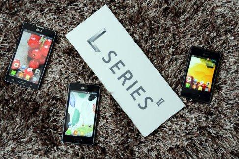 Disponibilités et prix de la série LG L-Style II : Optimus L3 II, Optimus L5 II et Optimus L7 II en France