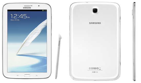 La Samsung Galaxy Note 8.0 vient d'être officialisée