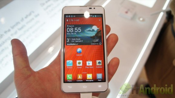 Prise en main du LG Optimus F5, la 4G (LTE) à moins de 370 euros